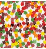 Confetti en Sucre - Feuilles d'Automne
