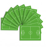 10 Plaques Azyme - Terrain de Football