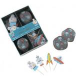 Caissettes et Décors Cupcakes Meri Meri® | Espace