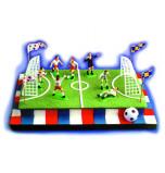 Décors de Gâteaux | Kit Football - 1 Jeu, plastique et papier
