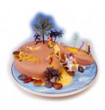 Décors de Gâteaux | Kit Ile au Trésor / Pirates- 6 Jeux, en plastique