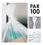 Liens Papier Blancs, par 100