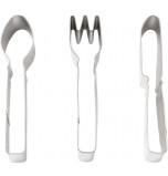 Découpoirs, Cuillère Fourchette Couteau (3 Découpoirs)