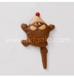Chocopiques Père Noël rigolo - Par 5