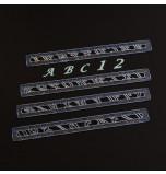 Lettres Majuscules & Chiffres Italique (2 cm)