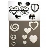 Patchwork Cutters® | Volutes et Cœurs