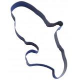 Cercle à Entremets, MARTINIQUE - 36 x 23 x 4,5 cm