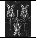Moule Sucettes Chocolat Adulte - Playboy Bunny