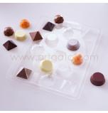 Moule à Chocolat pour Bouchées Assorties