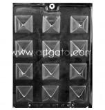 Moule Chocolat - Bonbons Pyramides