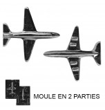 Moule à Chocolat, Avion 3D (2 moules)