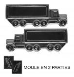 Moule à Chocolat, Camion 3D (2 moules)