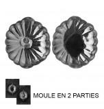 Moule à Chocolat, Citrouille 3D (2 moules)