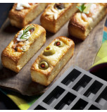 Moule Silicone Cake en Stock® | 12 Mini CAKES