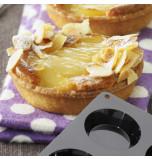 Moule Silicone Cake en Stock® |  6 TARTELETTES