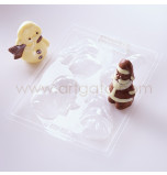 Moule Chocolat Noël