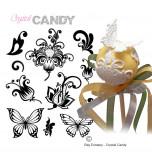 Mini Tapis en Silicone Dentelles Crystal Candy® - MultiArt Enya