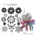 Mini Tapis en Silicone Dentelles Crystal Candy® - MultiArt Viviana