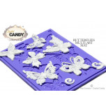 Mini Tapis en Silicone Dentelles Crystal Candy® - MultiArt Papillons
