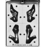 Moule à Chocolat, Chaussures Femmes 3D