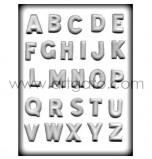 Moule Sucre Cuit, Alphabet