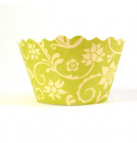 12 Tours de Cupcake Bella Cupcake Couture®, Taille Standard - Hannah Chartreuse / Jaune