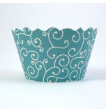 12 Tours de Cupcake Bella Cupcake Couture®, Taille Standard - Olivia Bleu Turquoise