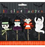 12 Piques Décors pour Cupcake Meri Meri® | Halloween