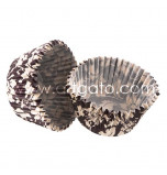 Caissettes Cupcakes - Elenor Marron - Mini - Vestli House