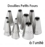 Douilles Pâtissières Petits-Fours