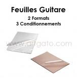 Feuilles Guitare | 2 Formats et 3 Condtionnements
