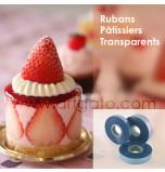 Rubans Pâtissiers Transparents en PVC 150 microns