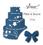 Pâte à sucre | Bleu Nuit - 2,5 kg