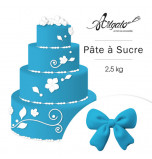 Pâte à sucre | Bleu Roi - 2,5 kg