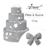 Pâte à sucre | Grise - 2,5 kg