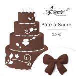 Pâte à sucre | Marron Foncé - 2,5 kg