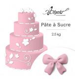 PATE A SUCRE | Rose Pâle - 2,5 Kg