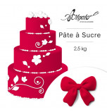 PATE A SUCRE | Rouge - 2,5 Kg