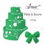 Pâte à sucre | Vert Émeraude - 2,5 kg