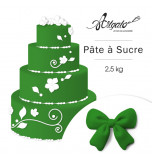 PATE A SUCRE | Vert Feuille - 2,5 Kg