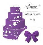 Pâte à sucre | Violette - 2,5 kg