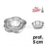 Moules à Gâteau Fat Daddio's® Pétales - Prof. 5 cm
