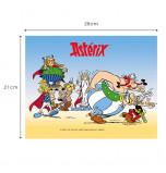 Décor de Gâteau | Astérix et Obélix - Différents Personnages, Plaque Azyme 21 x 28 cm