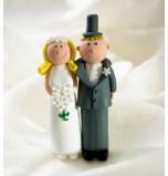 Couple avec Mariée Blonde