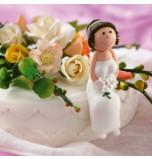 Mariée ou Demoiselle d'Honneur Brune