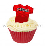 Maillots Football - Portugal - Réal - 36 Pièces