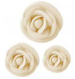 Roses coloris Ivoire - Asst. 114 pièces