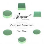 Cartons à entremets - Vert Pâle