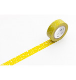 Washi Masking Tape | Moutarde grêlé Blanc