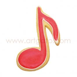 Découpoir Birkmann Note de musique rouge